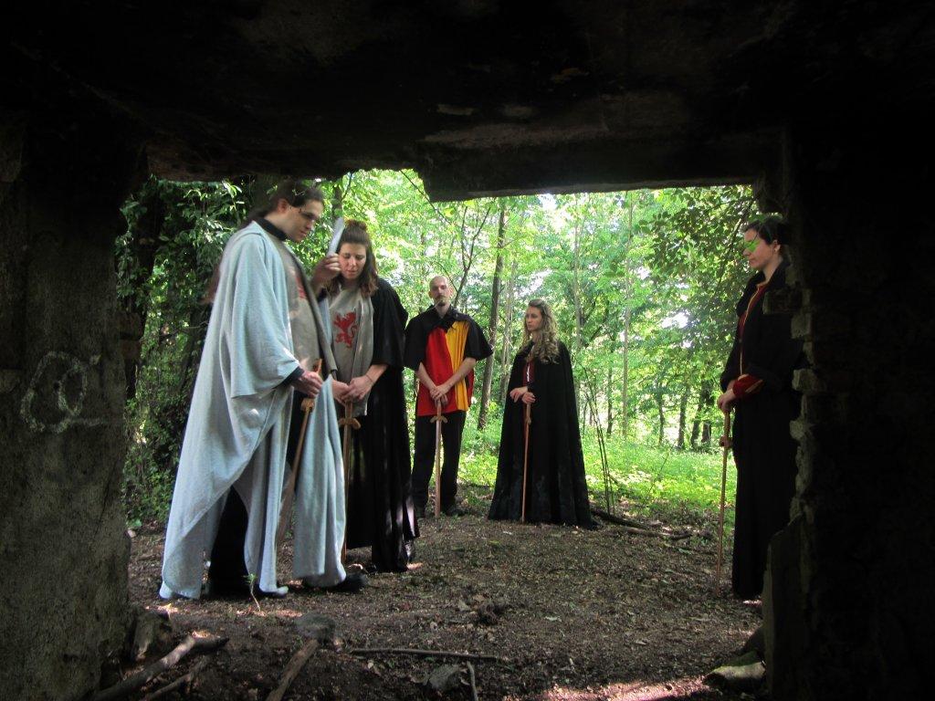 Dalla grotta
